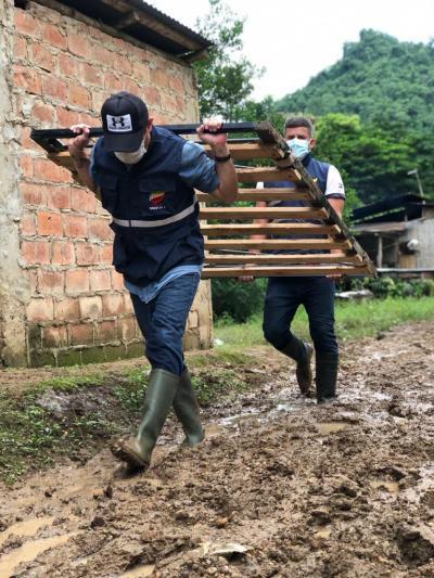 Más de mil productores afectados y pérdidas de 3.5 millones de dólares, tras la fuertes lluvias