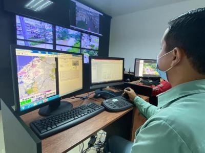 Plan Acción Invernal realiza un amplio despliegue en zonas afectadas por el intenso aguacero